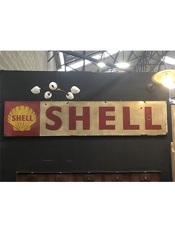 Plaque émaillée Shell